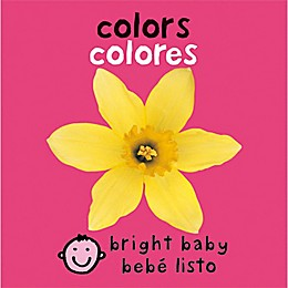 """""""Bright Baby Colors"""" English/Spanish Book by Roger Priddy"""