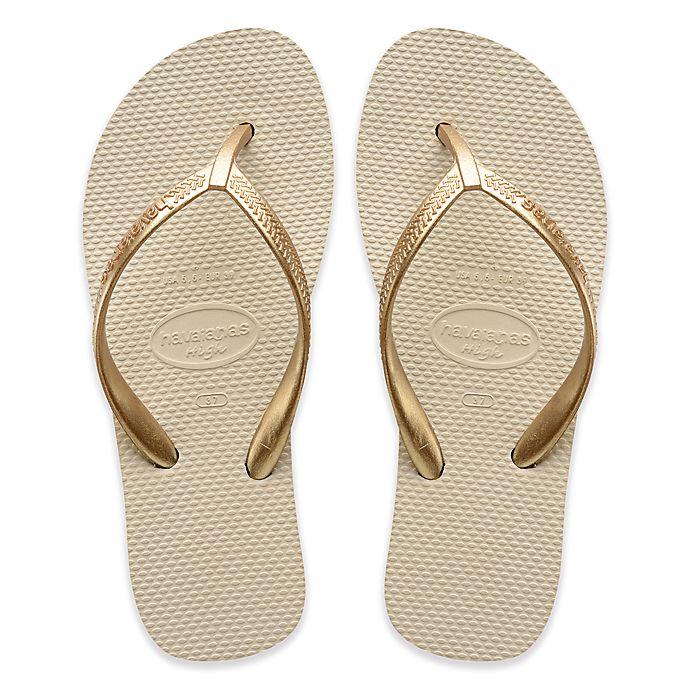 Alternate image 1 for Havaianas® High Light Women's Sandal in Beige