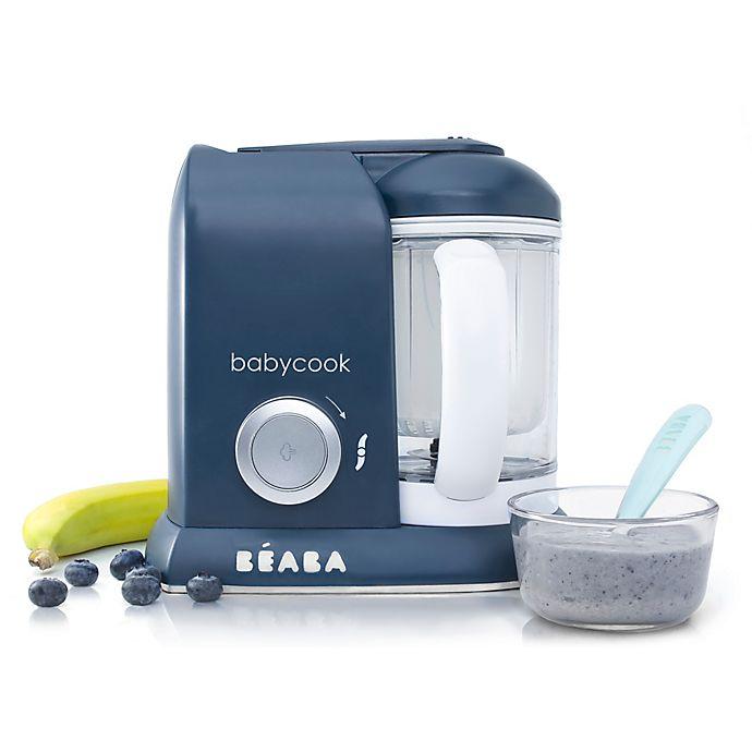 Alternate image 1 for BÉABA Babycook Baby Food Maker in Navy