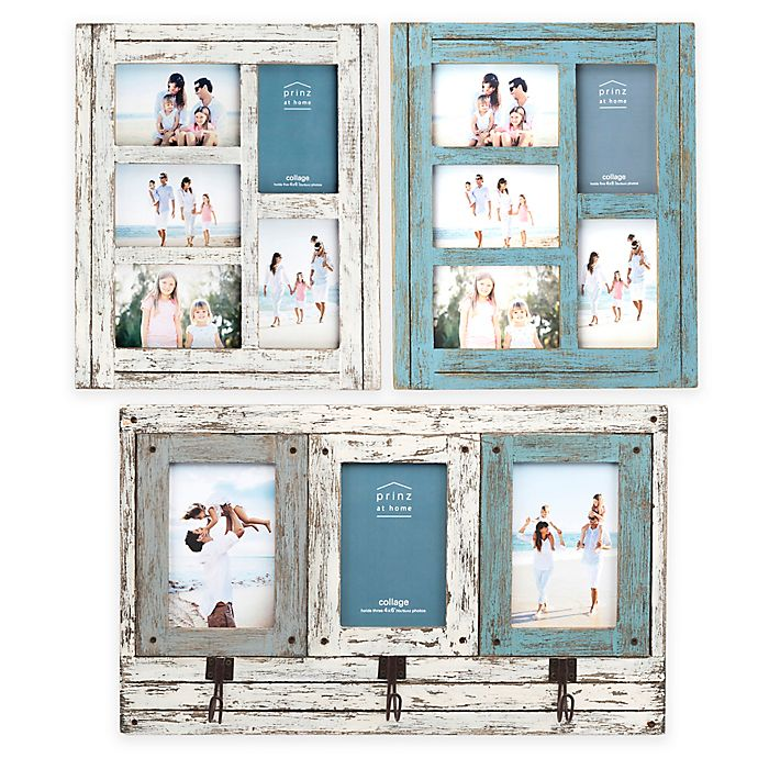 Prinz Homestead Multi-Opening Collage Wood Picture Frame | Bed Bath ...