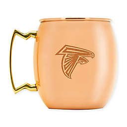 NFL Atlanta Falcons 16 oz. Brushed Copper Moscow Mule Mug