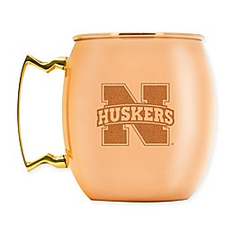 University of Nebraska 16 oz. Copper Moscow Mule Mug