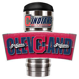 MLB Cleveland Indians MVP Vacuum Insulated 18 oz. Stainless Steel Travel Tumbler