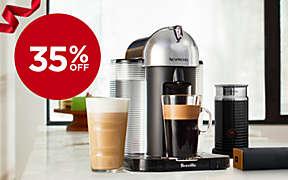 35% OFF Select Nespresso®  machines thru 12/3.. Shop Now