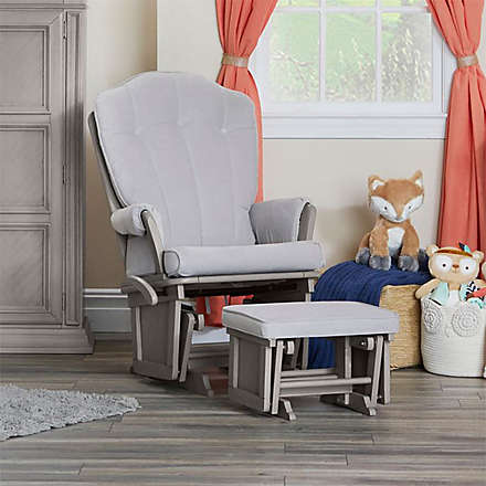 SUPER VALUE! Baby Cache Vienna Glider and Ottoman, $249.99. Shop Now