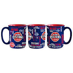 NBA Detroit Pistons 17 oz. Sculpted Spirit Mug
