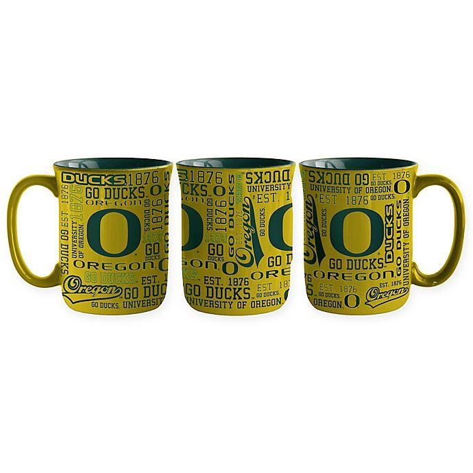 Alternate image 1 for University of Oregon 17 oz. Sculpted Spirit Mug