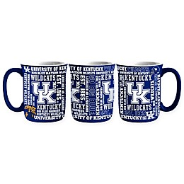 University of Kentucky 17 oz. Sculpted Spirit Mug