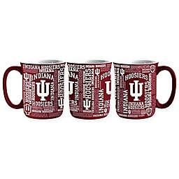Indiana University 17 oz. Sculpted Spirit Mug