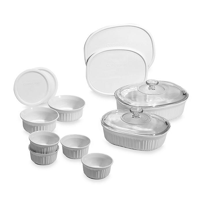 Alternate image 1 for CorningWare® French White® 14-Piece Bakeware Set