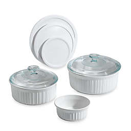 CorningWare® French White® 8-Piece Bakeware Set