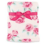 Hudson Baby® Rose Super Plush Blanket in Pink