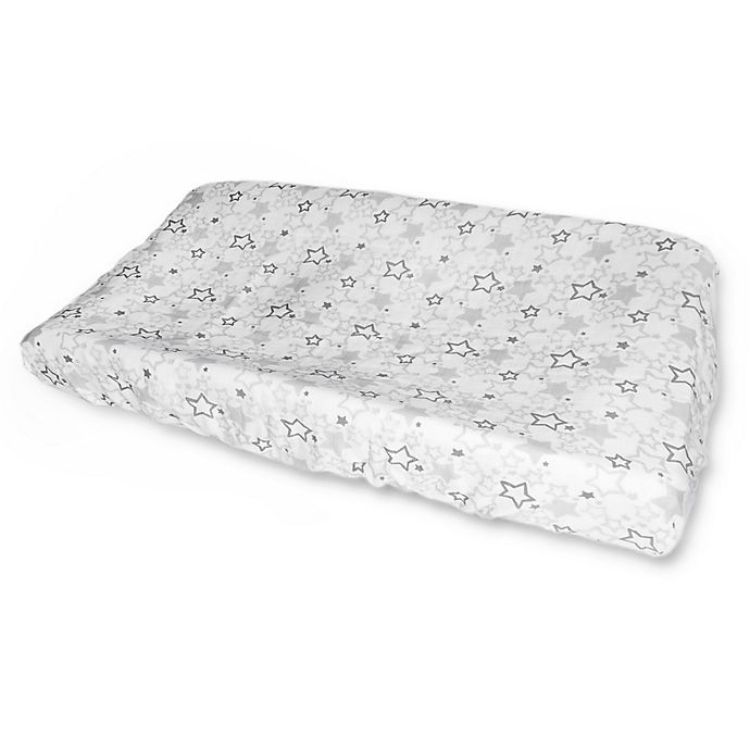 Alternate image 1 for SwaddleDesigns® Starshine Muslin Changing Pad Cover