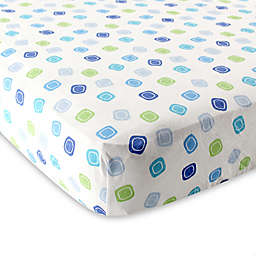 Luvable Friends® Geometric Fitted Crib Sheet
