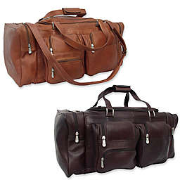 Piel® Leather Classic 24-Inch Duffle with Pockets