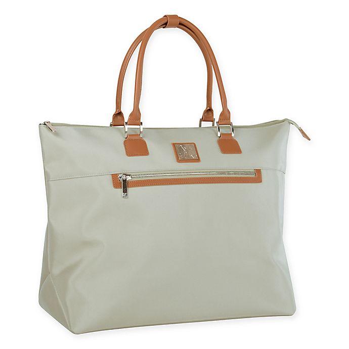 984fed5d5341 Diane von Furstenberg® Soft Totes 20-Inch Tote Bag in Light Mint Vachetta