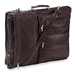 Piel® Leather Classic Executive Expandable Garment Bag