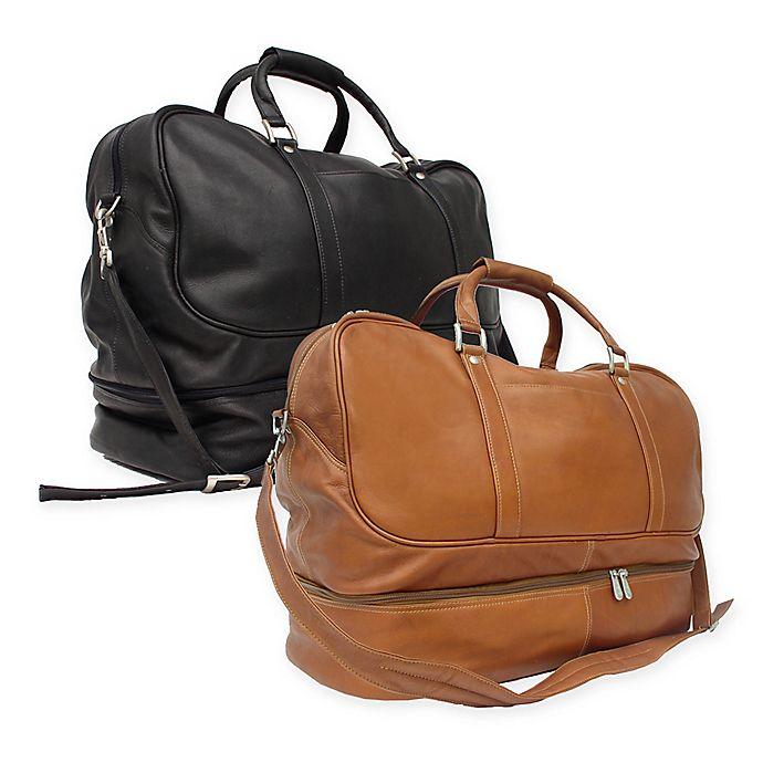 a0767717ce61 Piel® Leather False-Bottom Sports Bag | Bed Bath & Beyond