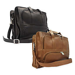 Piel® Leather 17-Inch  Classic Half-Moon Portfolio