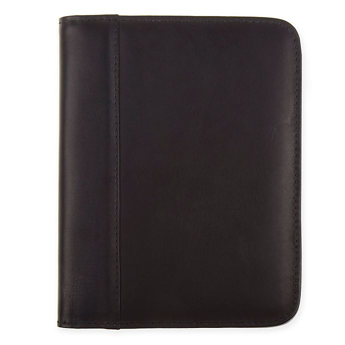 Alternate image 1 for Piel® Leather Junior Padfolio in Black