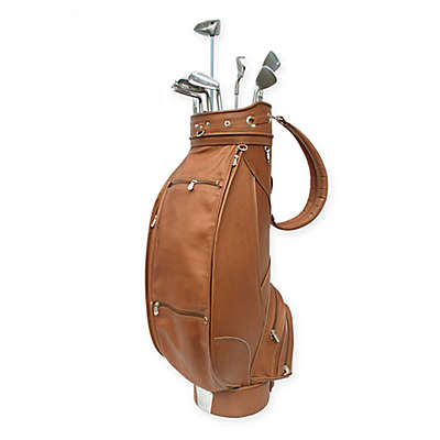 Piel® Leather Classic Deluxe Golf Bag