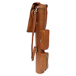 Piel® Leather 48-Inch Classic Executive Golf Travel Bag in Saddle