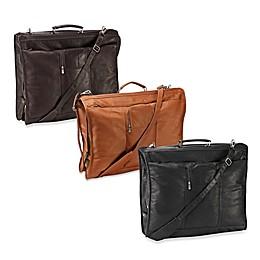 Piel® Leather 23-Inch Leather Elite Garment Bag