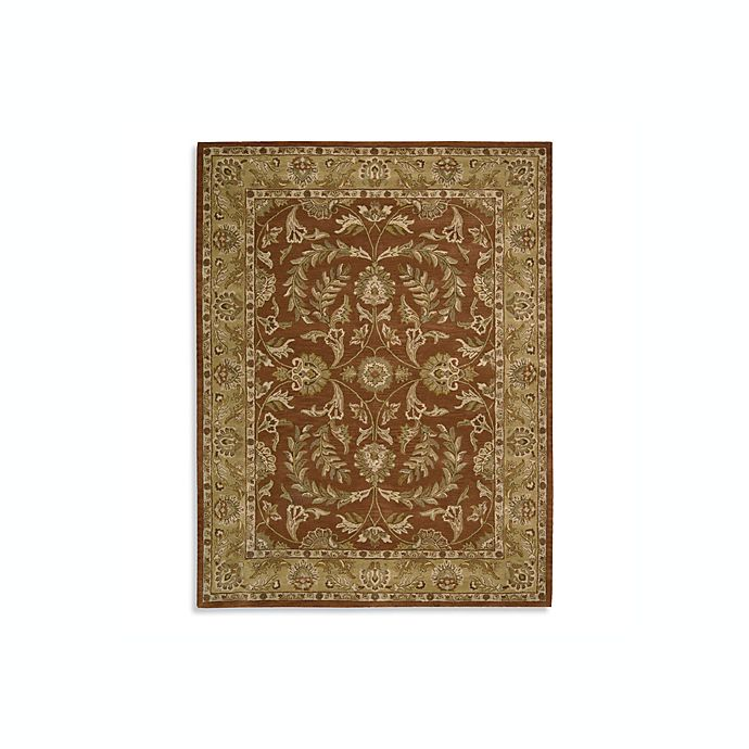 Alternate image 1 for Nourison India House Hand Tufted Area Rug in Rust
