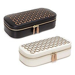 Wolf Designs® Chloe Zip Travel Jewelry Case