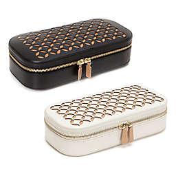 Wolf Designs® Chloe Zip Travel Jewelry Case