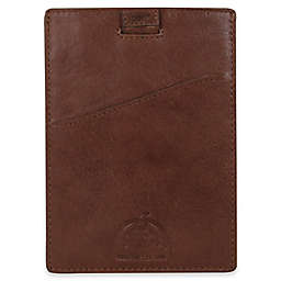 Dopp® Carson RFID Pull-Tab Passport Sleeve in Espresso