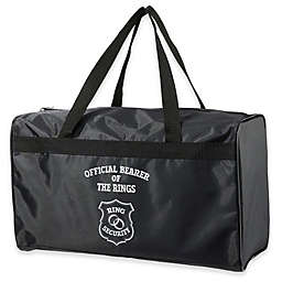 Lillian Rose™ Ring Bearer Security Duffel Bag in Black