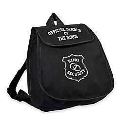 Lillian Rose™ Ring Bearer Bag in Black