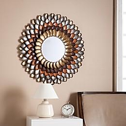 Southern Enterprises 31.75-Inch Round Decorative Mirror