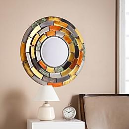 Southern Enterprises 31-Inch Baroda Round Decorative Mirror