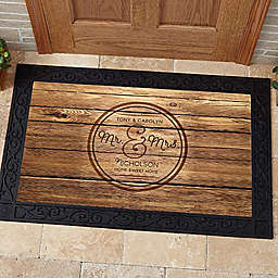 Circle of Love Door Mat
