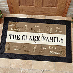 Our Loving Family Door Mat