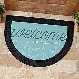 Welcome Half Round Doormat