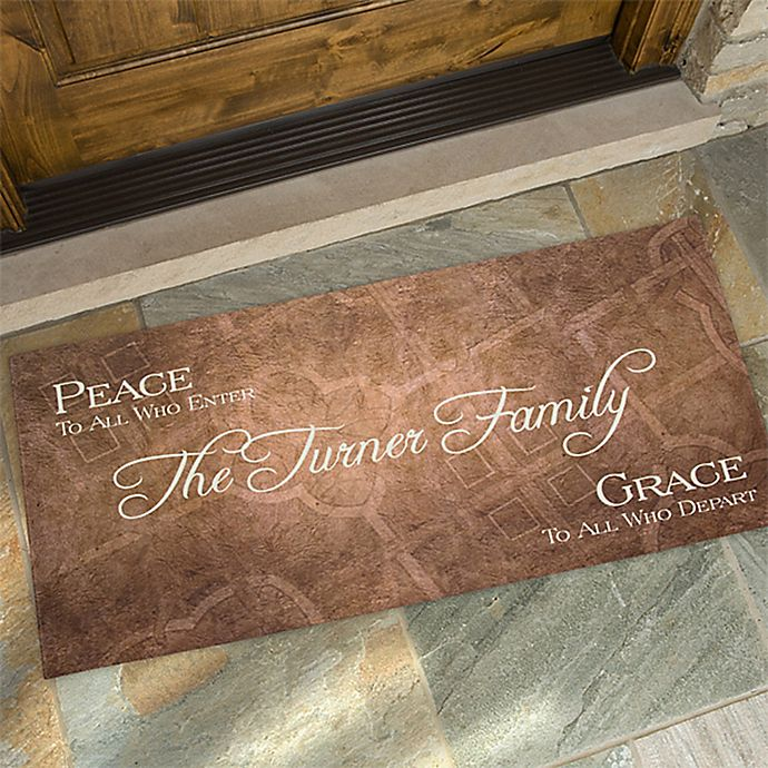 Alternate image 1 for Peaceful Welcome Doormat