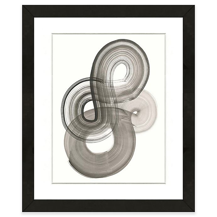 Alternate image 1 for Black Abstract II 18-Inch x 22-Inch Framed Wall Art