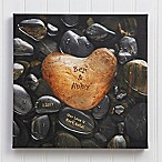 Heart Rock 16-Inch x 16-Inch Canvas Print
