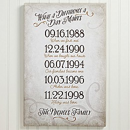 Our Best Days Canvas Print