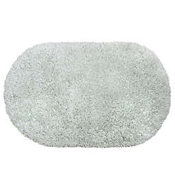 Juliet 21-Inch x 34-Inch Shag Bath Rug in Mint