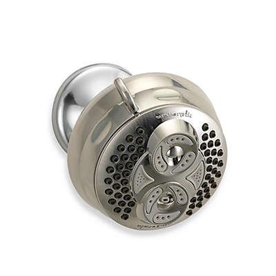 Waterpik® Elite™ Twin Turbo™ Fixed Showerhead in Brushed Nickel