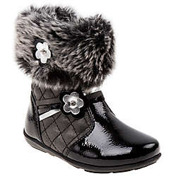 Josmo Shoes Fur Boot in Black
