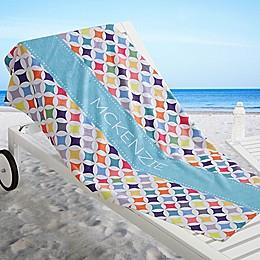Geometric Beach Towel