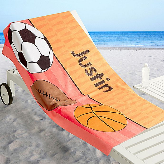Alternate image 1 for Just for Him Beach Towel