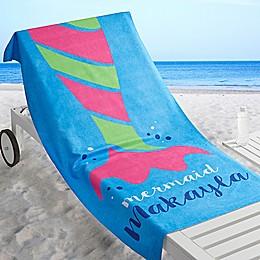 Mermaid Life Beach Towel