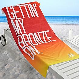 Beach Quotes Beach Towel