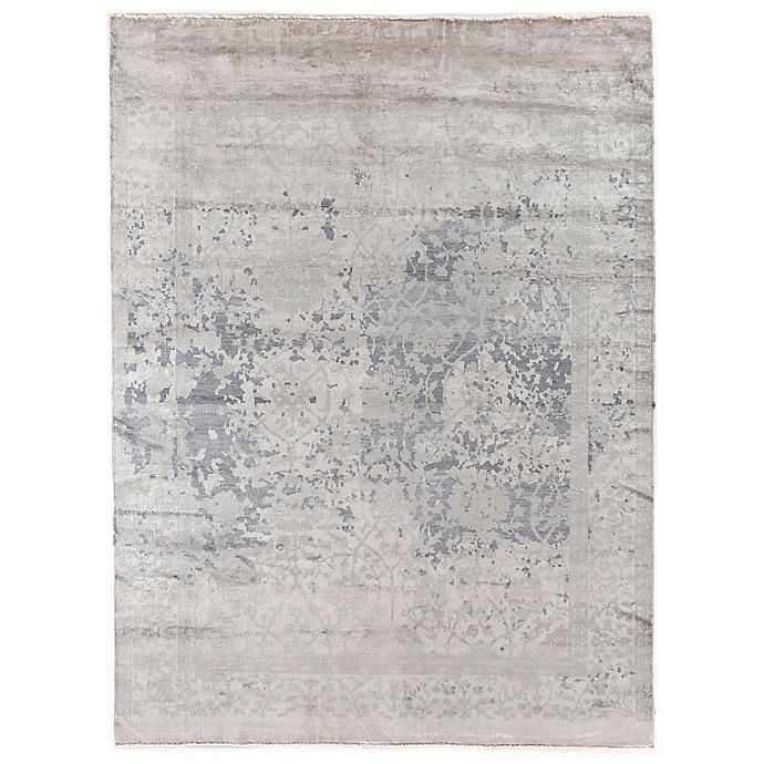 Alternate image 1 for Antique Weave 8-Foot x 10-Foot Area Rug in Silver